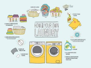How to do laundry college students