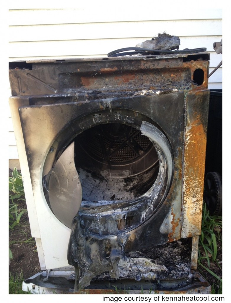 Clogged dryer vents cause thousands of house fires every year